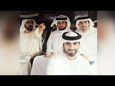 Sheikh Mansoor younger brother of sheikh Hamdan เจ้าชายมันซูร์พระอนุชาเจ้าชายฮัมดาน Prince of Dubai