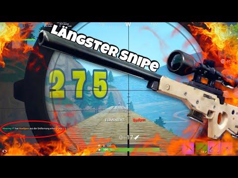 Sniper Im Test!🎯 500 Meter Möglich?🔥Fortnite Spielwiese
