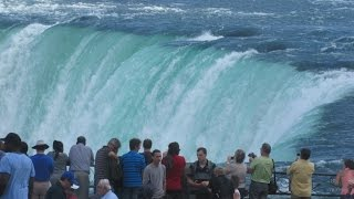 Niagara Falls Ontario Canada - View From Promenade & Maid of the Mist