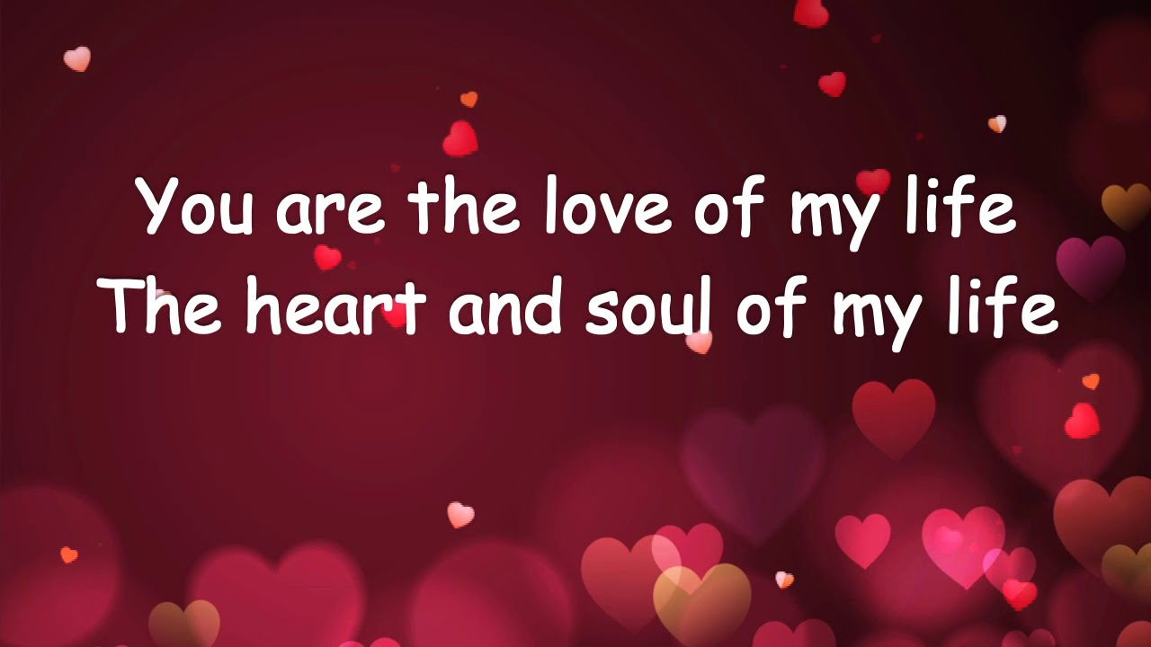 Are my of the u life love Meaning Of