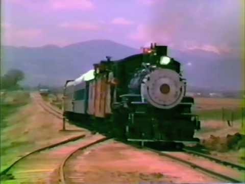 2-8-0 Steam Locomotive Great Western Railroad #51  Loveland,Colorado 1983