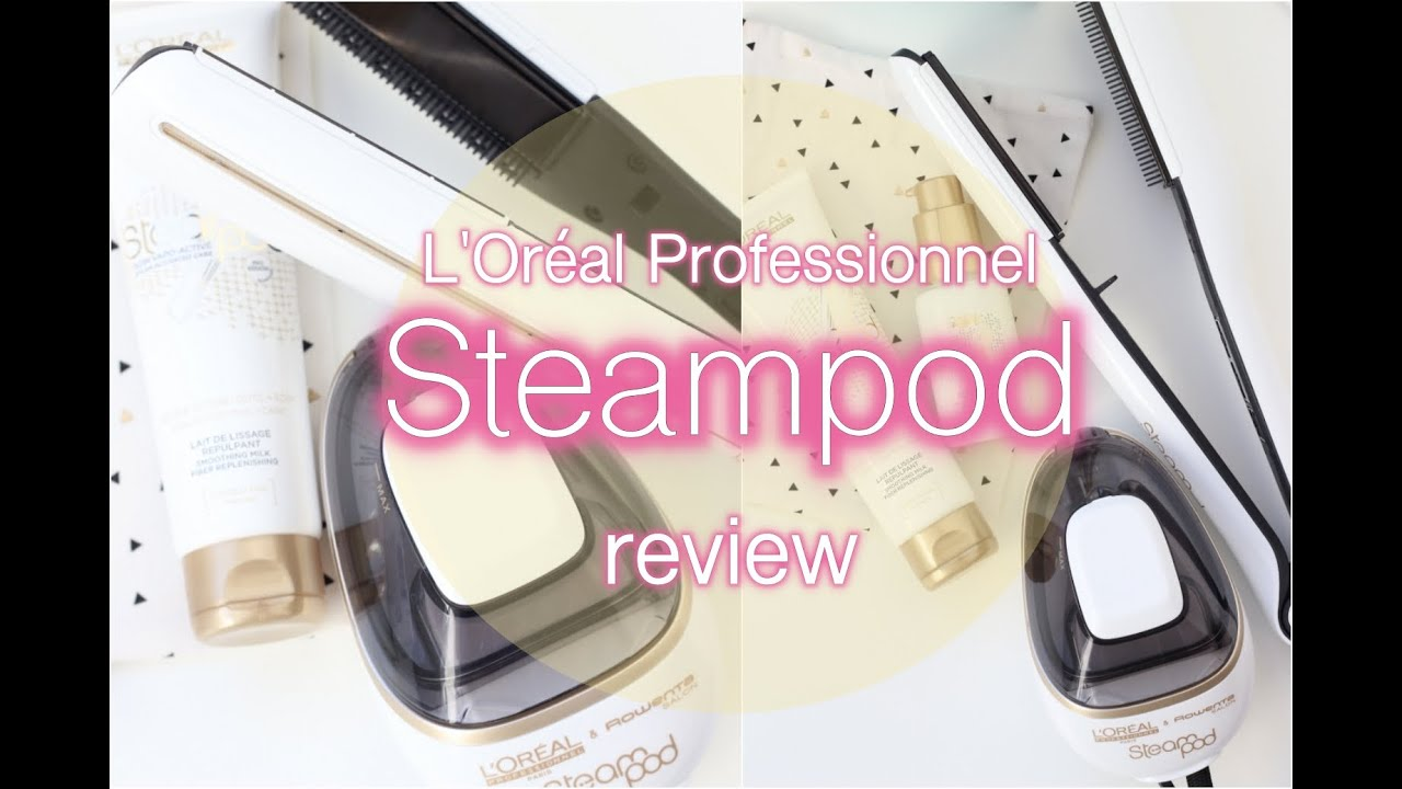 review demo l 39 or al professionnel steampod 2 0 beautyloves youtube. Black Bedroom Furniture Sets. Home Design Ideas
