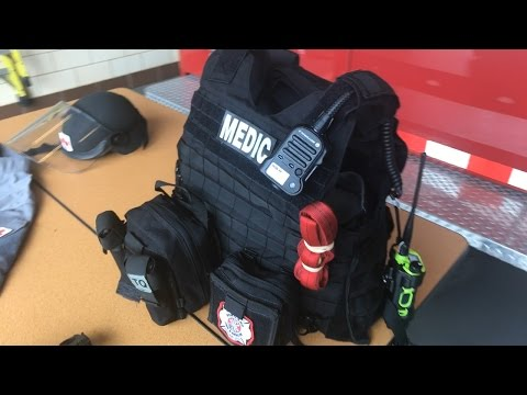 Unboxing Portland Fire & Rescue New Medic Riot Gear