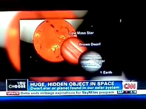 cnn clip of brown dwarf star in our solar system old clip