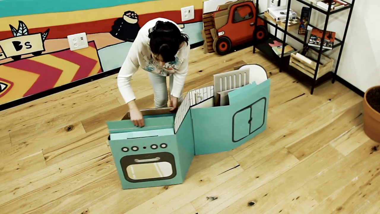 How To PopUp and UnPop - POPIN™ Play Kitchen