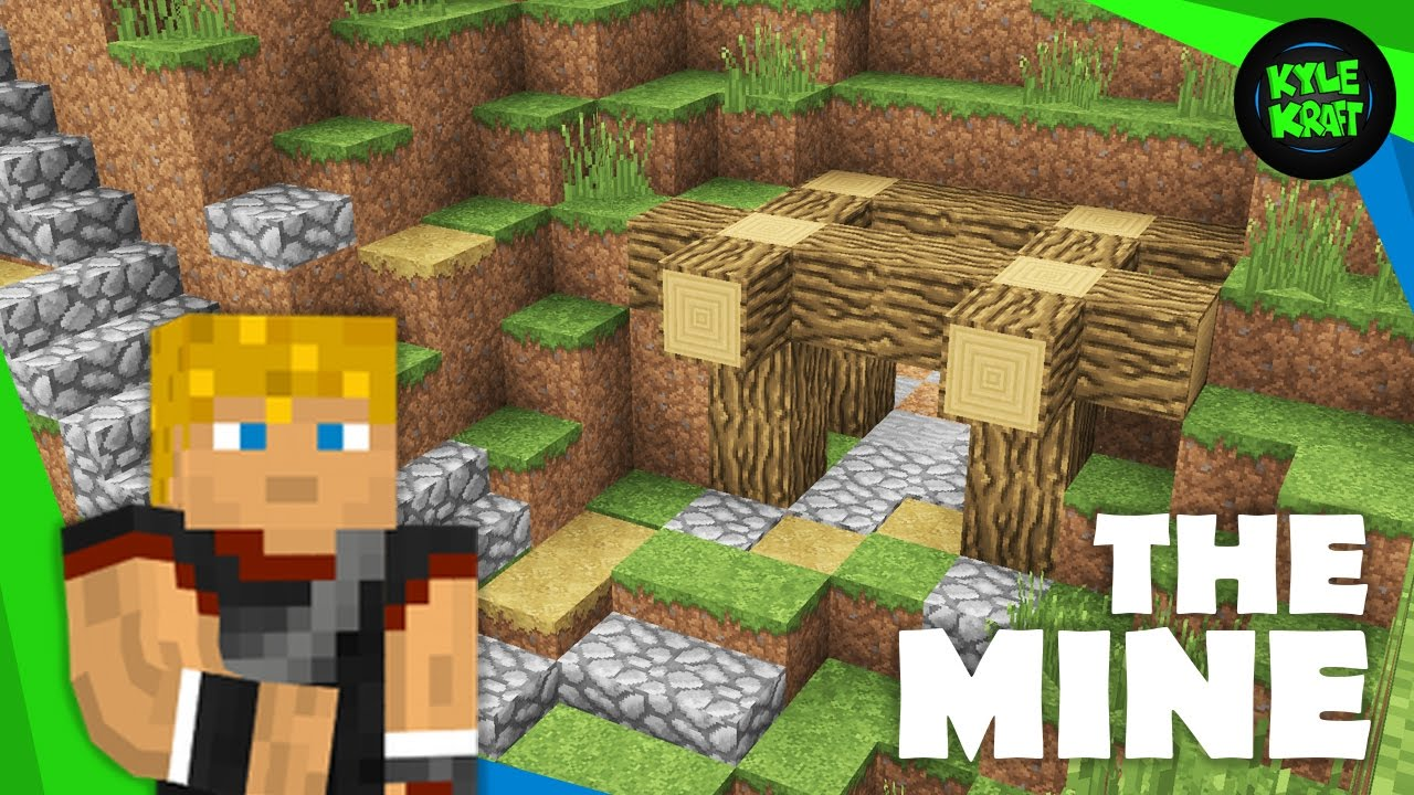 Building a Minecraft Survival Base | Ep. 03 | The Mineshaft! - YouTube