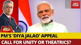 PM's 'Diya Jalao' Appeal: Call For Unity Or Political Theatre? | News Today With Rajdeep