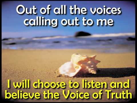 Voice of Truth by Casting Crowns with lyrics in HD