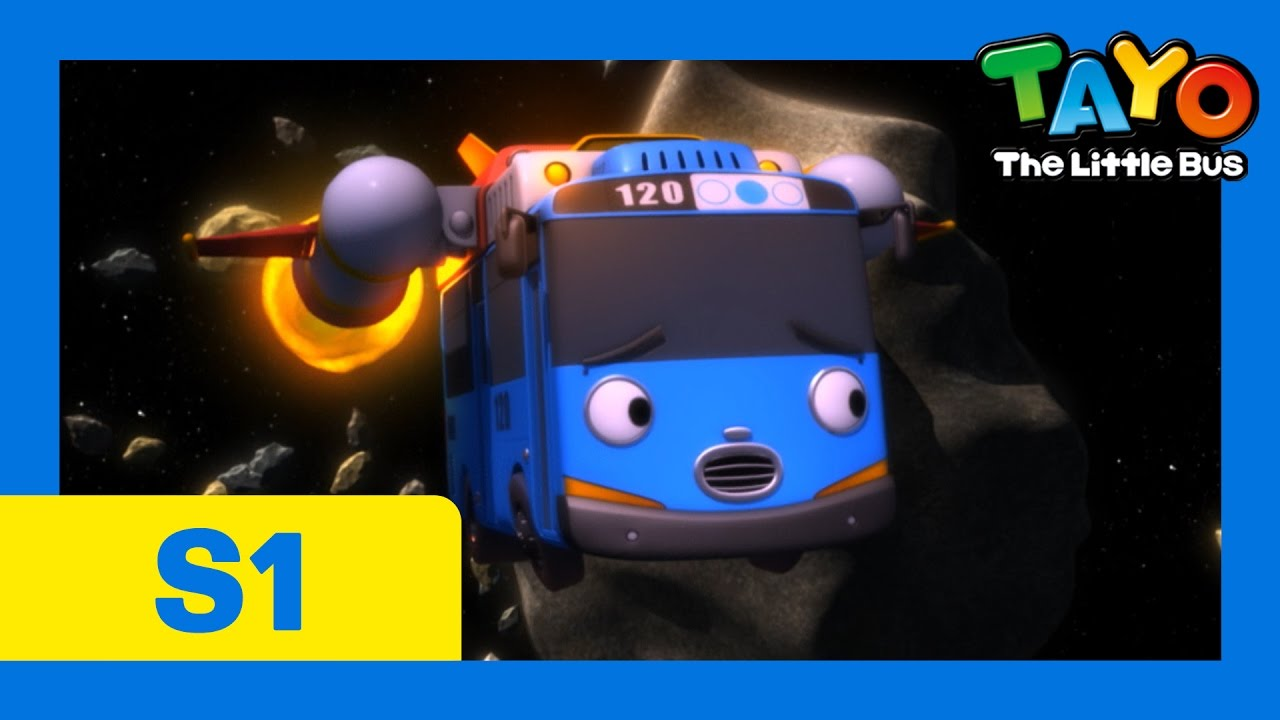 Tayo S1 EP21 Tayos Space Adventure l Tayo the Little Bus