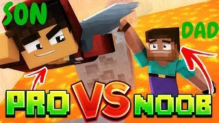 HILARIOUS NOOB VS PRO - MINECRAFT EDITION - MUST SEE!