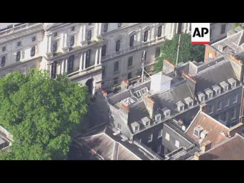 Aerials of Westminster Palace