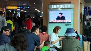 N.Korea says no more missile tests. S.Koreans give their take