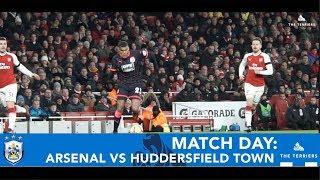 MATCH DAY: Arsenal vs Huddersfield Town