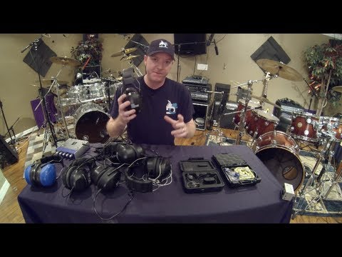 Drummer Headphones, Hearing Protection and In-Ear Monitor Review