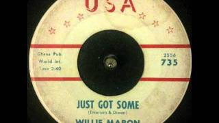 "Willie Mabon ~ ""Just Got Some"""