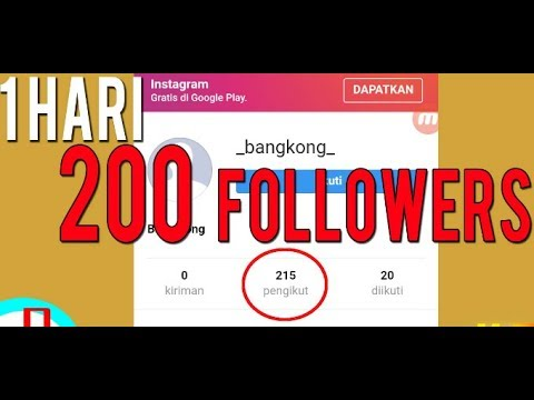 Cara Menambah Follower Instagram Aktif Dengan Cepat Dan Gratis