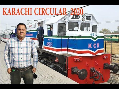 Karachi Circular Railway 2020   Railway Report 2020   Ghayas with Railway Report Pakistan