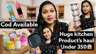 Huge Kitchen Products Haul Under 350Cod AvailableShop101Kitchen HaulVizagSpace Saving items