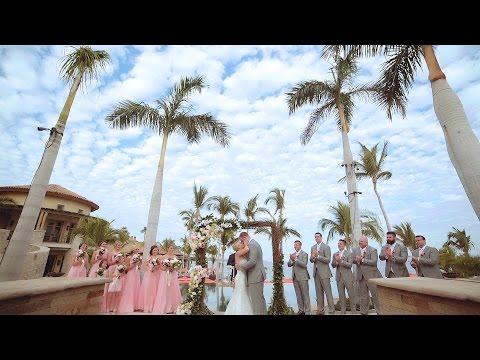 Destination wedding in Cabo San Lucas, Mexico | Kyle Rudolph & Jordan Nine