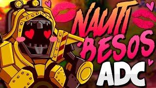NAUTILUS ADC | EL HÉROE DE LOS BESOS (League of Legends)
