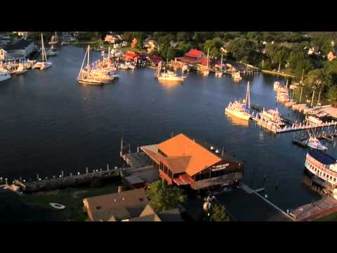 Aerial View of the Chesapeake Bay Maritime Museum