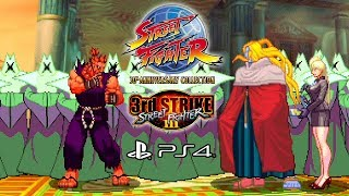 Street Fighter III 3rd Strike (PS4) Arcade - SF 30th Anniversary Collection @ 1080p (60ᶠᵖˢ) HD ✔