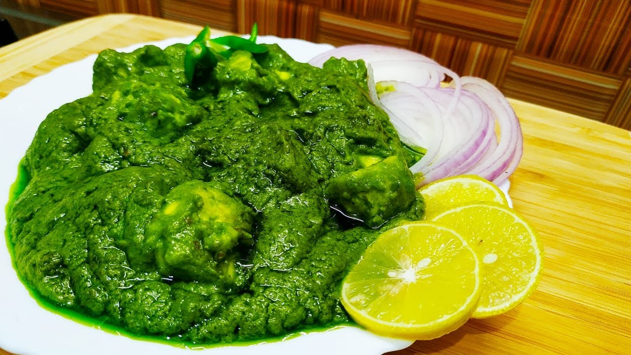 how to prepare palak panneer