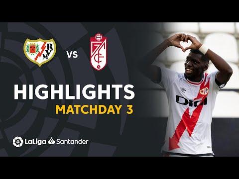 Vallecano Granada Goals And Highlights
