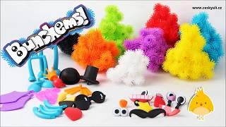 BUNCHEMS - kreativní hračka pro děti│Aliexpress česky│Unboxing - TEST - TRIKY - recenze CZ