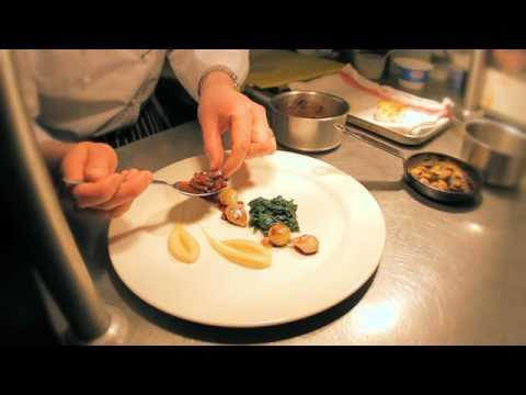 Chef Russell Brown - Dish Presentation