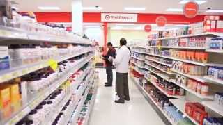 Estrategia de la cadena de farmacias Target en Canadá.