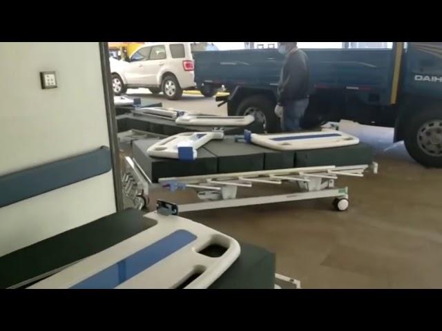 CMD de Santiago denuncia retiro de camas y equipos hospital Las Colinas.