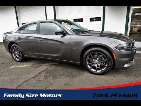 2018 DODGE CHARGER GT *1-Owner vehicle* *Under Factory Warranty* *AWD* (Milwaukie, Oregon)