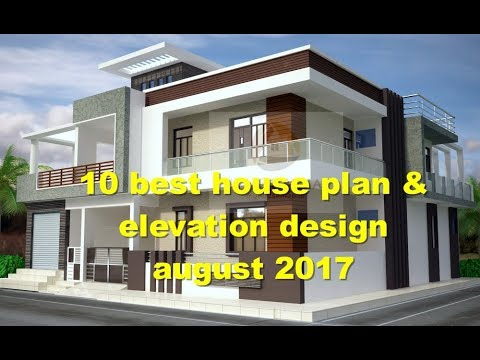 10 best house plan and elevation design august 2017 | Indian house ...