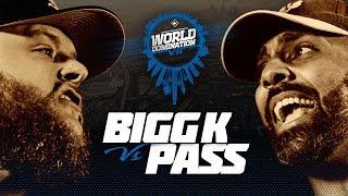 KOTD - Bigg K vs Pass   #WD7