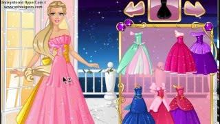 �������� ���� Barbie Princess 👑👠Ball Dress Up👡💐 БАРБИ Принцесса 👑👗Одень Барби на Бал🌷💐🎀 ������
