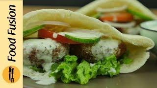 Falafel Pita Recipe By Food Fusion