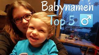 Babynamen Top 5 Jungen | Kathy@Home