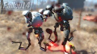 Codsworth vs Curie - Fallout 4