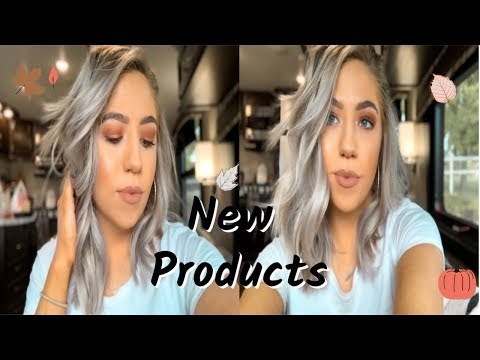 TRYING OUT NEW PRODUCTS + EASY FALL MAKEUP TUTORIAL || Abbie Klein thumbnail