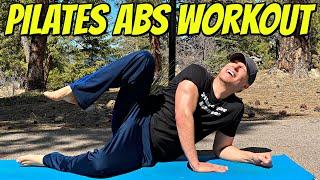 10 Min PILATES ABS HOME WORKOUT (No Equipment) Sean Vigue Fitness
