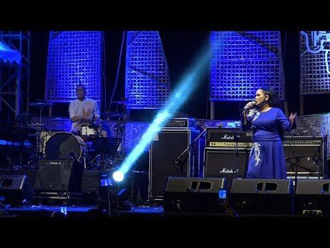 DIDADAKU ADA KAMU - VINA PANDUWINATA Live Perform - Senggigi Sunset Jazz Lombok 2018