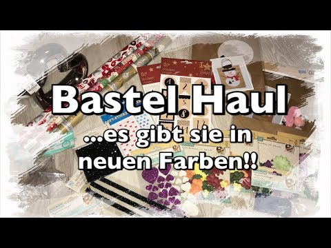 XL Bastel Haul (deutsch), Tedi Haul, neu bei Tedi, Kik Haul, uvm. DIY Scrapbook