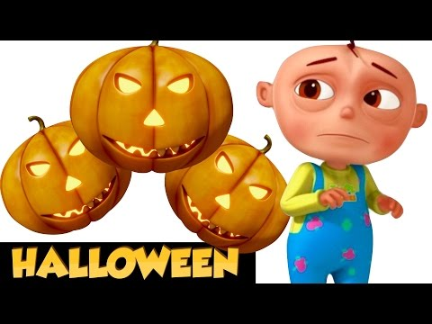 Thumbnail: Five Little Babies In a Haunted House | Halloween Songs For Children | Scary Spooky Song