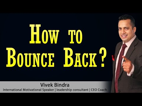 How to Bounce Back Motivational Video in Hindi by Vivek Bindra