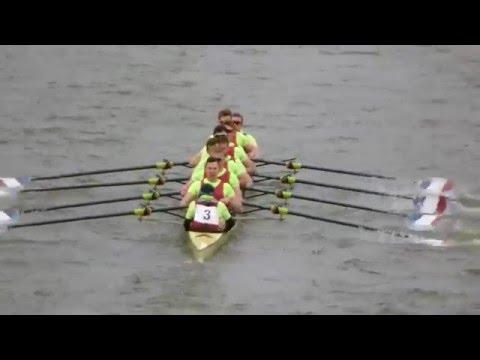 The Head Of The River Race 2016 (first 16 crews through Barnes Bridge)
