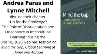 Up for the Challenge? The Role of Disorientation and Dissonance in Intercultural Learning