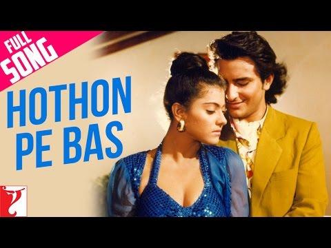 Hothon Pe Bas - Full Song | Yeh Dillagi | Saif Ali Khan | Kajol | Lata Mangeshkar | Kumar Sanu