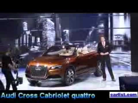 audi cross cabriolet quattro concept - youtube