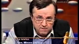 Generalul Chelaru la Antena 1.Conferinta de presa despre demisie in data de 2 11 2000